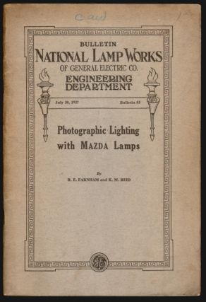 Photographic Lighting with MAZDA Lamps. R. E. Farnham, K. M. Reid