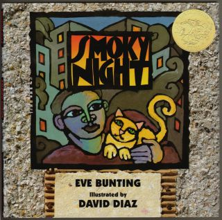 Smoky Night [SIGNED BY AUTHOR AND ILLUSTRATOR]. Eve Bunting, David Diaz.