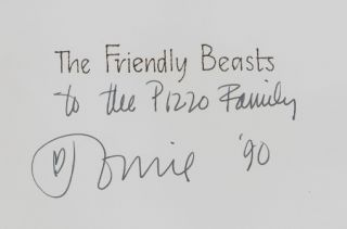 The Friendly Beasts, An Old English Christmas Carol [SIGNED]