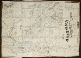 The Hand-Book to Arizona, Its Resources, History, Towns, Mines, Ruins, and Scenery [with] Map of Arizona Prepared Specially for R. J. Hinton's Hand Book of Arizona Compiled from Official Maps of Military Division of the Pacific Surveyor General's Office