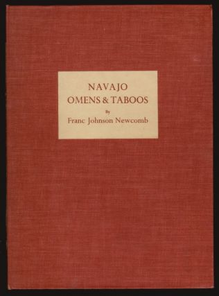 Navajo Omens and Taboos [with prospectus]