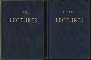 Lectures [Two-Volume Set]. Fritz Saxl.