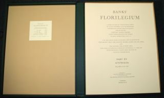 Banks' Florilegium, A Publication in Thirty-Four Parts of Seven Hundred and Thirty-Eight Copperplate Engravings of Plants Collected on Captain James Cook's First Voyage Round the World in H.M.S. Endeavour, 1768-1771. Volume XV, Australia Plates 316-337
