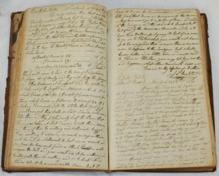 Manuscript Letter and Account Book of New York Textile Merchants James Rushton & Son, 1813-1822. NEW YORK COMMERCE.