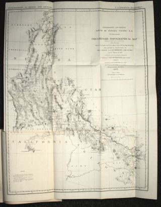 Preliminary Report Concerning Explorations and Surveys Principally in Nevada and Arizona, 1871. A. A. Humphreys, George M. Wheeler.