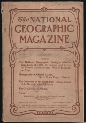 The National Geographic Magazine, January 1910, Vol. XXI, No. 1 [Alaska and the North Pole