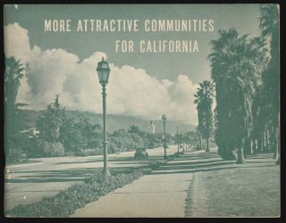 More Attractive Communities for California. COMMUNITY PLANNING CALIFORNIA.