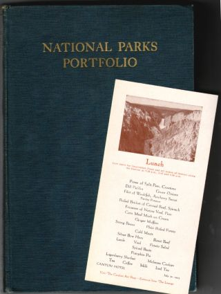 The National Parks Portfolio. Robert Sterling Yard, Isabelle F. Story, Revision.