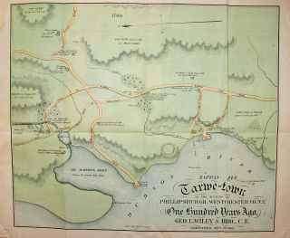 "A ""Centennial Souvenir."" A Brief History of Tarrytown, from 1680 to September 1880. With a Map of Tarrytown as it was One Hundred Years Ago"