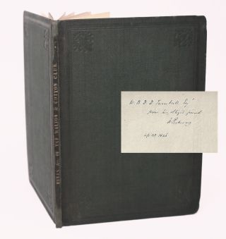 Rules and Regulations of The Walton and Cotton Club. Instituted 19th March 1817, Revised 8th...