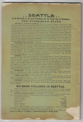 The Evergreen State Souvenir, Containing a Review of the Resources, Wealth, Varied Industries and Commercial Advantages of the State of Washington