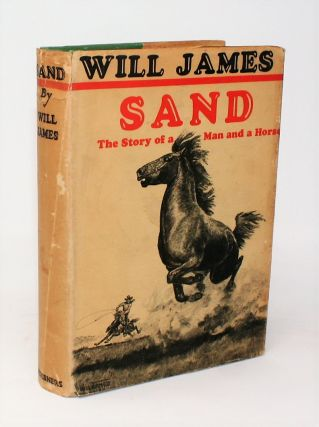 Sand {SIGNED]. Will James.