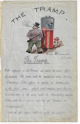 "Prospectus for ""The Tramp"" SHIPBOARD NEWSPAPER"