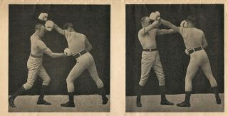 Mailer/Prospectus for the Marshall Stillman Method of Teaching Boxing and Self-Defense. BOXING...