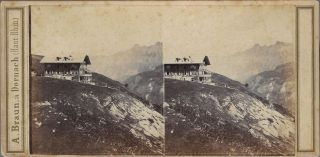 Group of Early Stereoviews of the Alps by French Photographer Adolphe Braun. ALPS