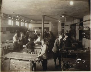 Photographic Archive Documenting Industrial Training in Coffeyville, Kansas, Schools, ca. 1915