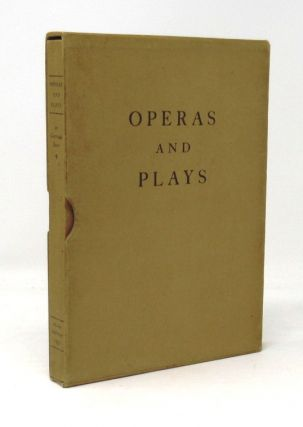 Operas and Plays. Gertrude Stein