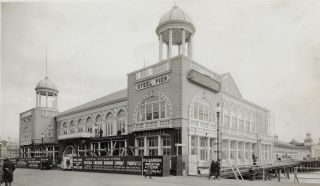 Archive of Photographs Documenting Renovation and Design Work on Steel Pier, One of Atlantic...