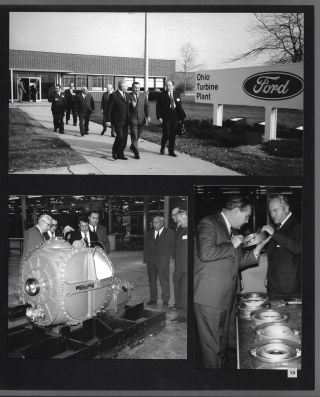 Small Archive Documenting the Ford-USSR Technical Exchange Forum of 1971