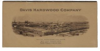 Davis Hardwood Company, A Select Line of Hardwood Lumber, Ship Timbers, Etc. Price List, July...