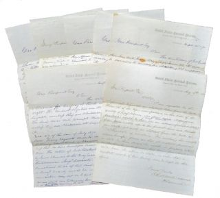 Small Archive of Letters from a Federal Tax Assessor to a Subordinate, 1870-71