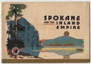 Spokane and the Inland Empire. Northern Pacific Railway