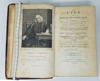 The Life of Samuel Johnson, LL.D. Comprehending an Account of his Studies and Numerous Works, in Chronological order; a Series of his Epistolary Correspondence and Conversations with Many Eminent Persons; and Various Original Pieces of His Composition, Never Before Published