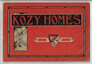 Kozy-Homes, A Selection of Artistic Little Houses Designed to Meet the Demands of Those Seeking...
