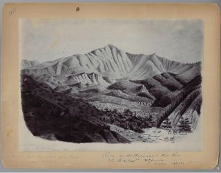 Ten Photographs of Original Artwork for the Gold Rush Narrative From East Prussia to the Golden Gate