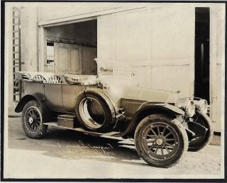 Collection of Photographs of Cars, Trucks, and Specialty Vehicles from Pasadena Rental Car Company that Catered to the Movie Industry in the 1920s