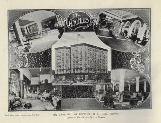 Pictorial Souvenir of the Leading Hotels of Southern California