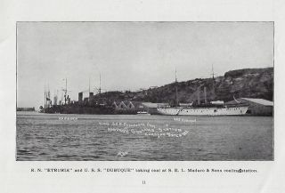 S.E.L. Maduro & Sons' Coaling Station at Curacao, Dutch West Indies