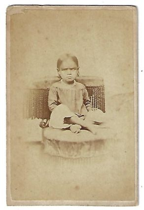 CDV Photograph of Frances Coryell. FOREIGN MISSIONS