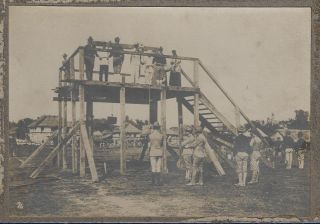 Six Photographs Documenting the Hanging of Rebels at Pozorrubio During the Philippine-American...