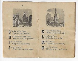 Tom Thumb's Picture Alphabet; in Rhyme