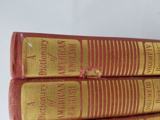 A Dictionary of American English on Historical Principles