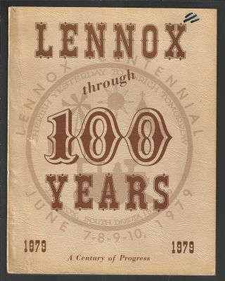 Lennox Through 100 Years 1879-1979, A Century of Progess