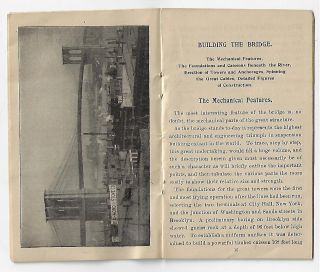 A History and Description of the Brooklyn Bridge. Illustrated.