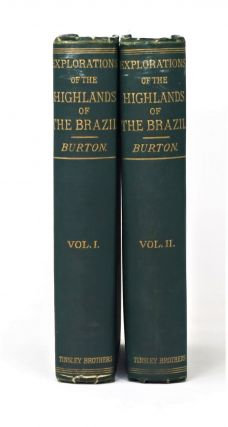 Explorations of the Highlands of the Brazil, With a Full Account of the Gold and Diamond Mines....