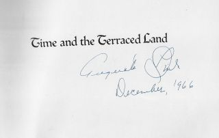 Time and the Terraced Land [SIGNED]
