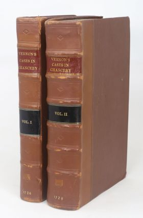 Cases Argued and Adjudged in the High Court of Chancery. Published from the Manuscripts of Thomas...