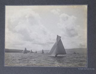 Photograph Albums of Yacht Racing on the River Clyde, 1904-1905