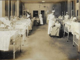Photograph Album Documenting Nurses' Training at Mercy Hospital and College of Physicians & Surgeons, Baltimore, 1920