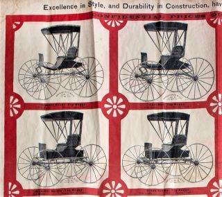 Hiram W. Davis & Co. Carriage Builders for the Trade, Domestic & Foreign, Cincinnati, Ohio, U.S.A