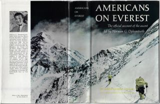 Americans on Everest, The Official Account of the Ascent led by Norman G. Dyhrenfurth