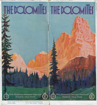 The Dolomites. Virgilio Retrosi