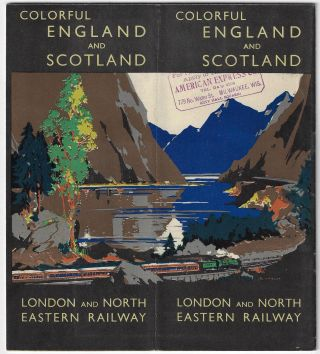 Colorful England and Scotland. Frank H. Mason