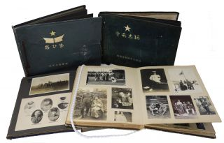 Four Photograph Albums Documenting Training and Service in the Imperial Japanese Army in the...