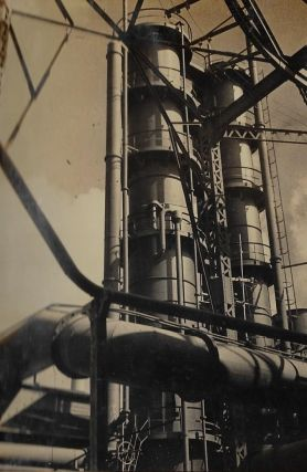 Photograph Album Displaying the Plant, Machinery, and Production Processes of a Factory in...