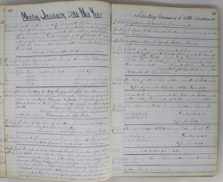 Manuscript Log Book of the 17th Precinct, New York City Police Department, December 1865-March 1866